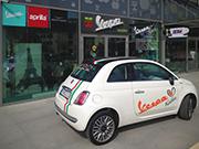 Vespa Fiat 500 Italia